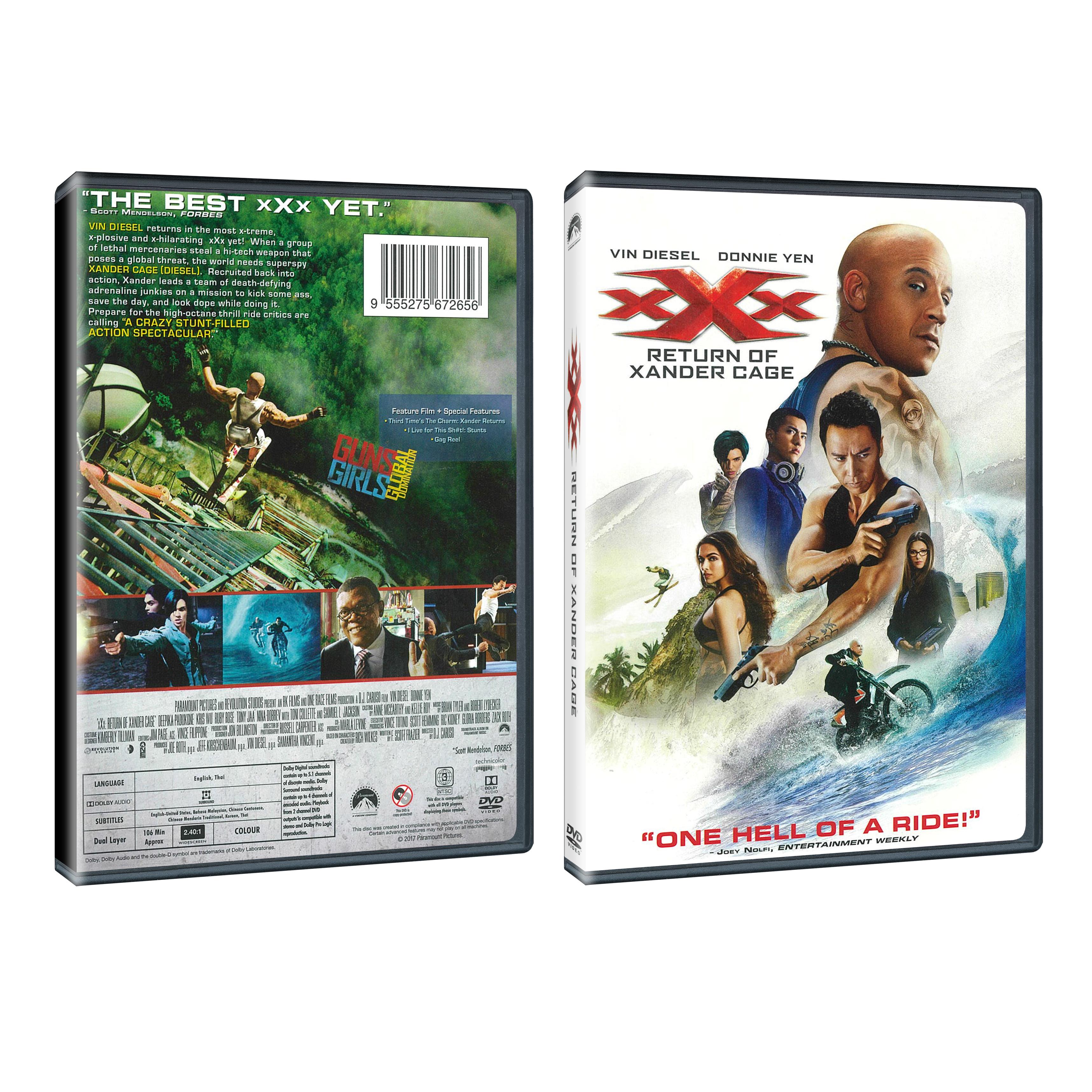 XXx: Return Of Xander Cage (DVD)