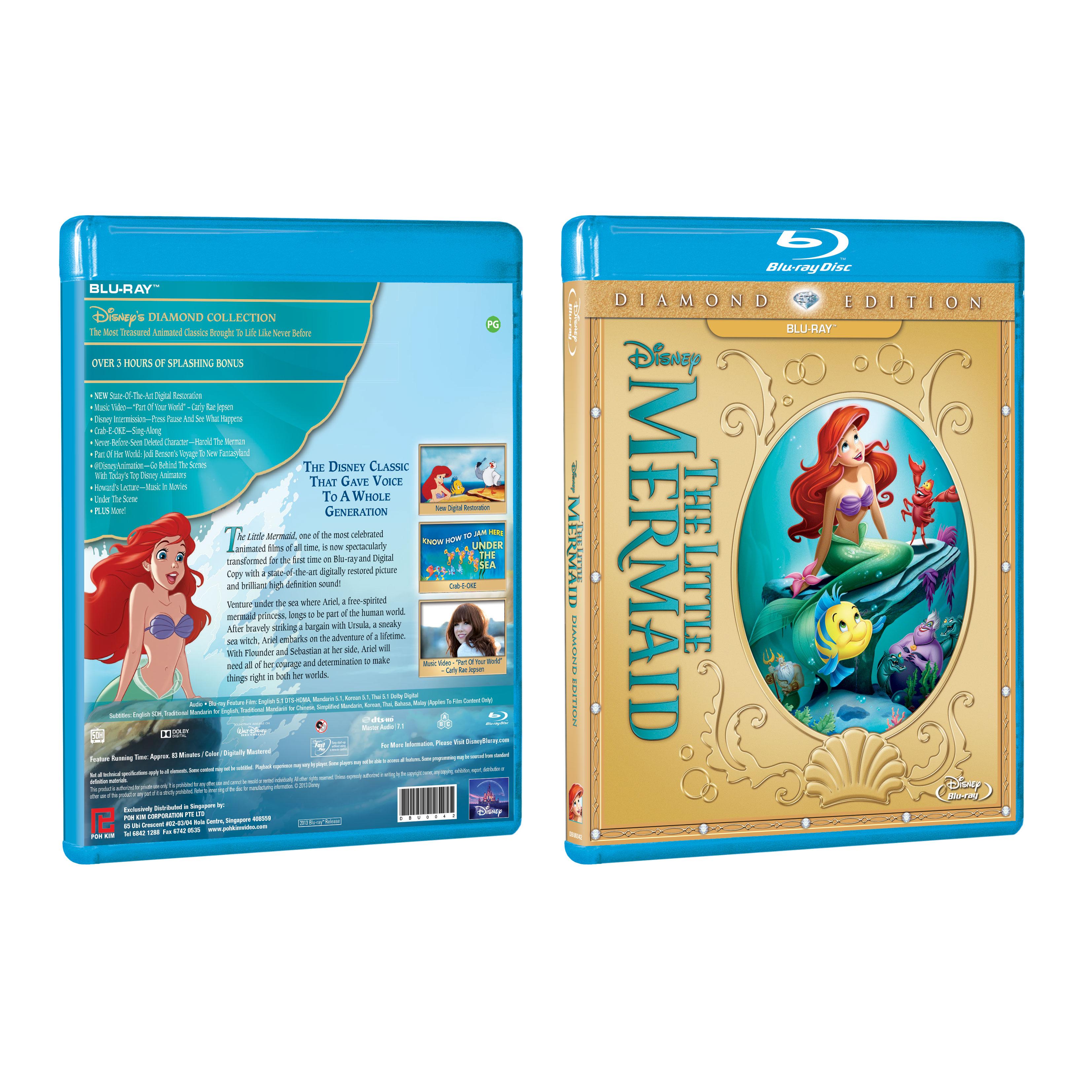 The Little Mermaid: Diamond Edition ? (Blu-ray)